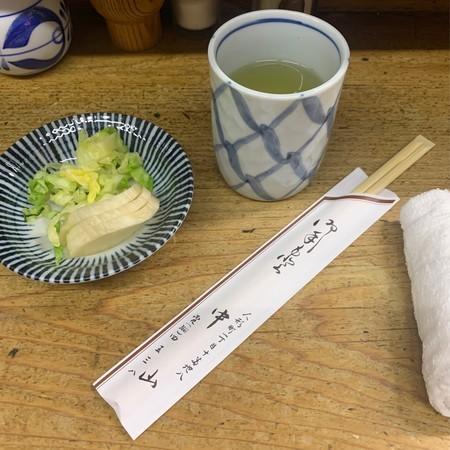 今年初 天ぷら中山 お昼