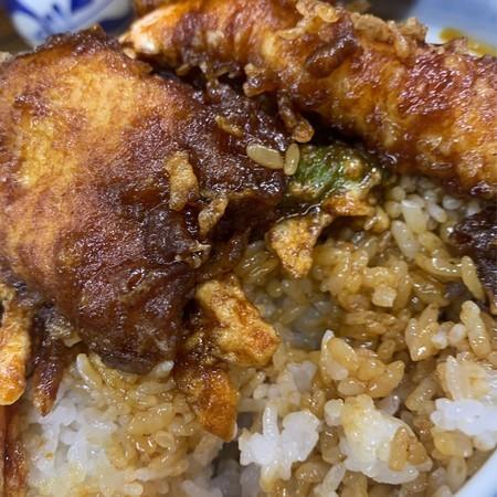 丼汁 白米
