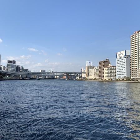 隅田川の流れ