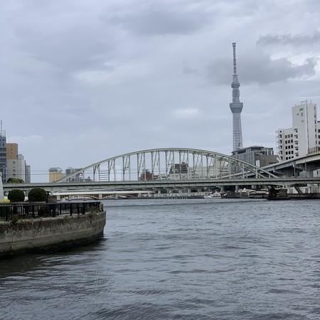 隅田川と東京スカイツリー