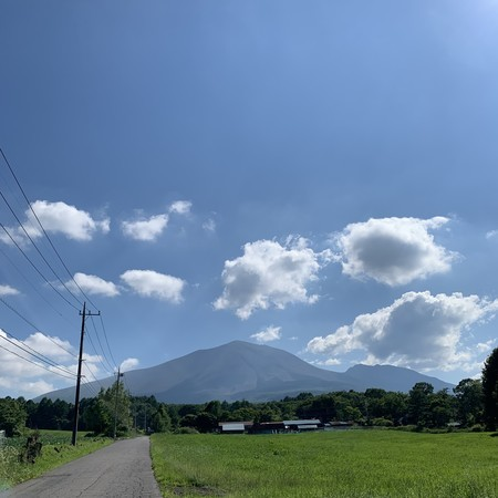 Mt. Asama after a long time... This is it!