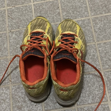 Today's running shoes: Montraril