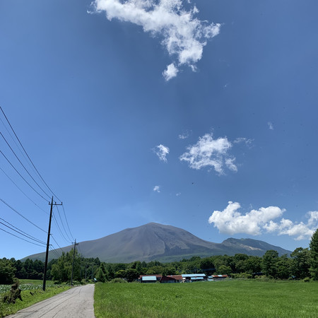 Today's Mt. Asama... Magnificent!