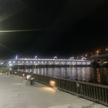 Railroad bridge of Tobu Railway