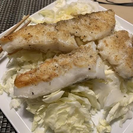 Sauteed cod