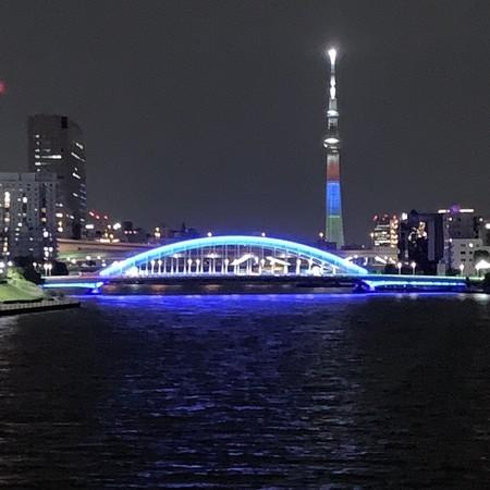 Eitai Bashi Bridge and Tokyo Sky Tree