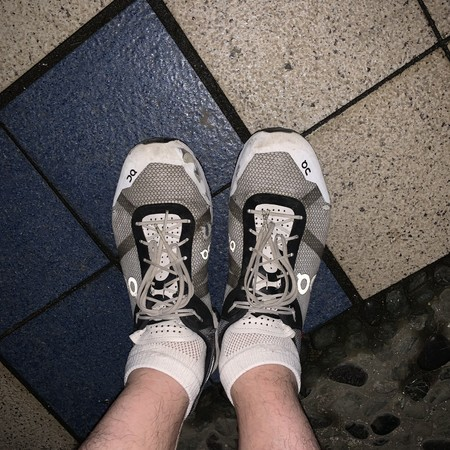 Today's Running Shoes: On Cloudrush