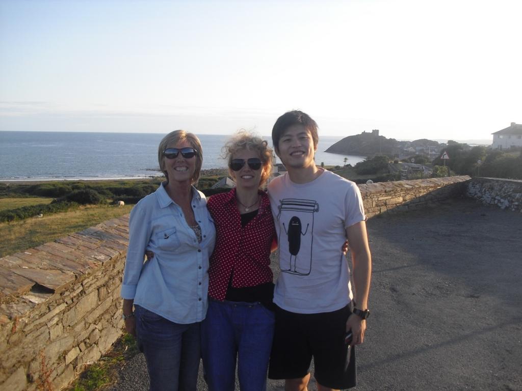 海の向こうの家族