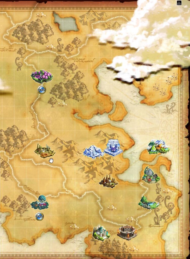 ログレスのワールドマップ - 剣と魔法のログレスのブログ