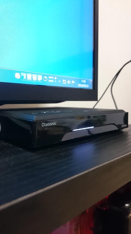 TW-D9HDMのアンプ部が薄くなりTVと干渉しない