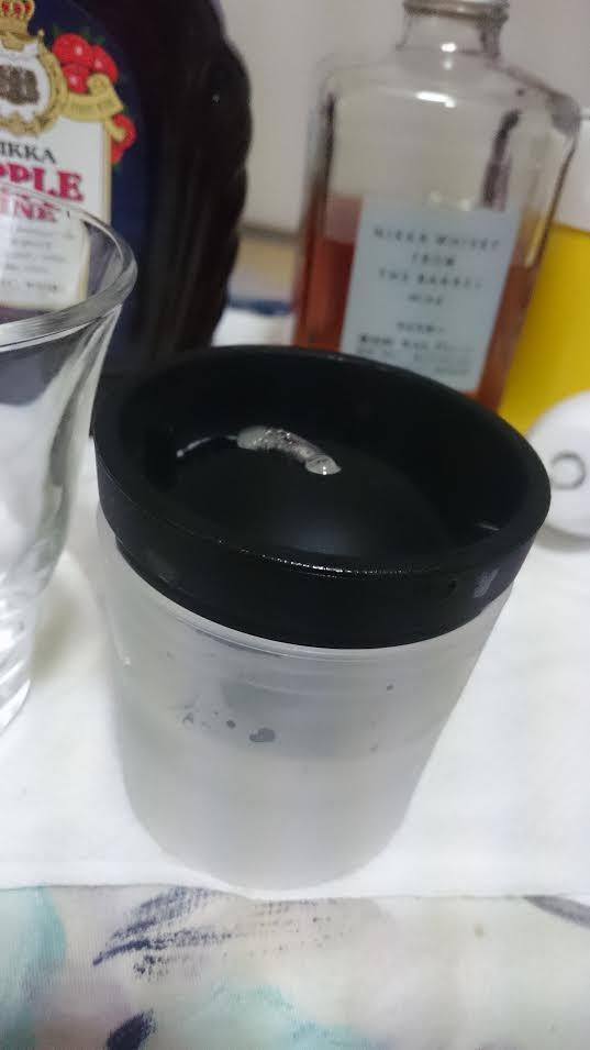 俺の氷で作成した丸氷