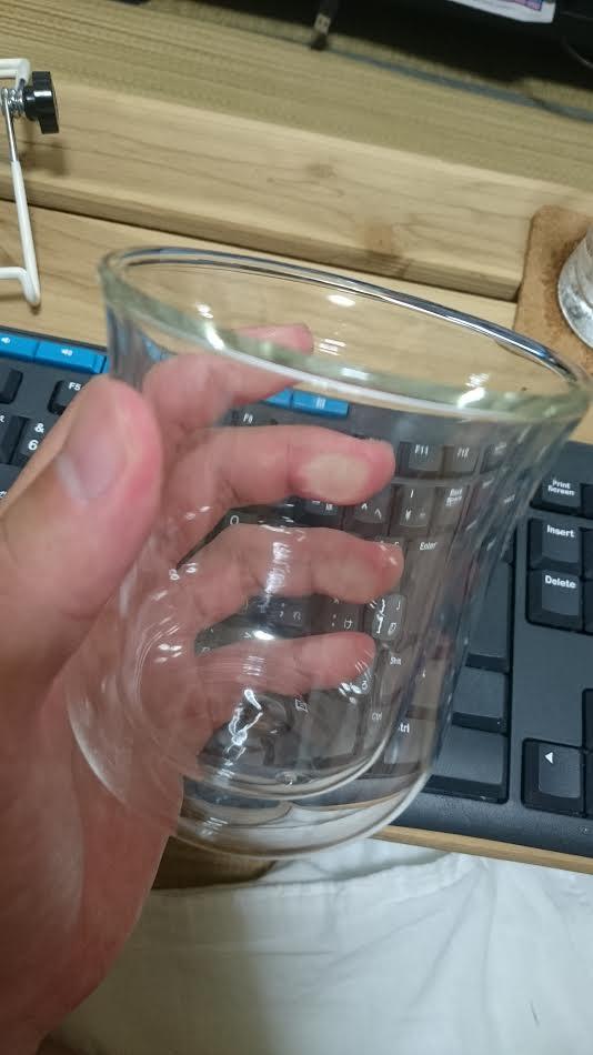 iwaki air ダブルウォールグラス