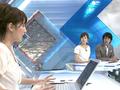 アタフタしている平井理央vs「早く書けばぁ?」な本田朋子と渡辺和洋