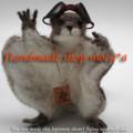 [リス][ホンドモモンガ][モモンガ][可愛いペット][羊毛フェルト][ハンドメイド][雑貨]