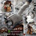 [誠文堂新光社][ザ・モモンガ][有袋類][袋モモンガ][フクロモモンガ][羊毛フェルト][ハンドメイド][ホンドモモンガ][モモンガ]
