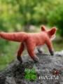 [子キツネ][子狐][こぎつね][赤キツネ][あかちゃん][赤ちゃん][可愛い画像][可愛いペット][羊毛フェルト][ハンドメイド]