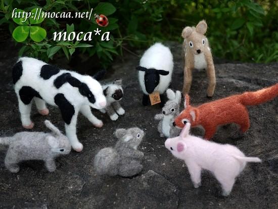 [小動物][ペット][子供][里山][可愛い画像][可愛いペット][羊毛フェルト][ハンドメイド][雑貨][20110530]