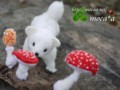 [Ermine][おこじょ][オコジョ][ペット][子供][ぬいぐるみ][可愛い画像][雑貨][羊毛フェルト][ハンドメイド]