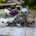 [猫][ねこ][ネコ][猫財布][仔猫][子猫][猫ポシェット][がま口財布]