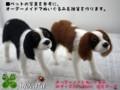 [犬ぬいぐるみ][犬ぬいぐるみオーダー][羊毛フェルト犬オーダ][オーダーメイドぬいぐ][モカ]