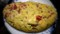 [干し野菜][干しトマト][Dried vegetable][干し野菜料理][Omelette][Dried tomatoes][ドライトマトのオムレ][ドライトマト][sun dried tomatoes][オムレツ]