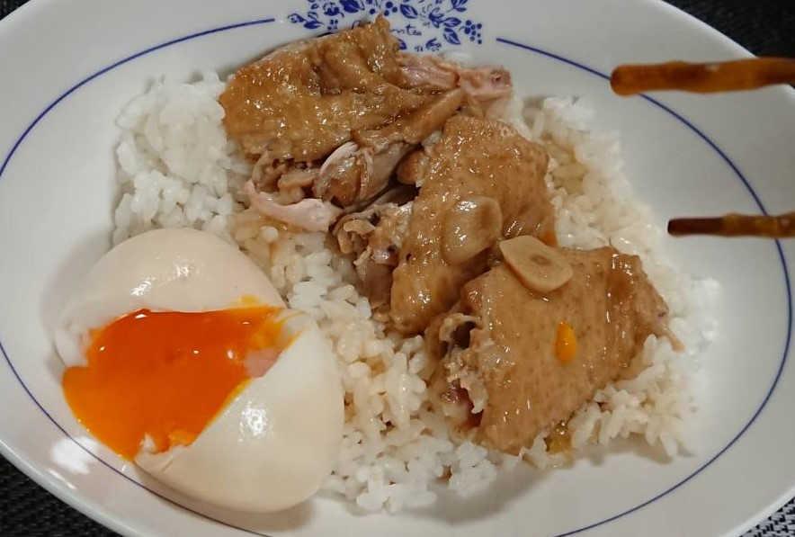 鶏手羽先 魯肉飯