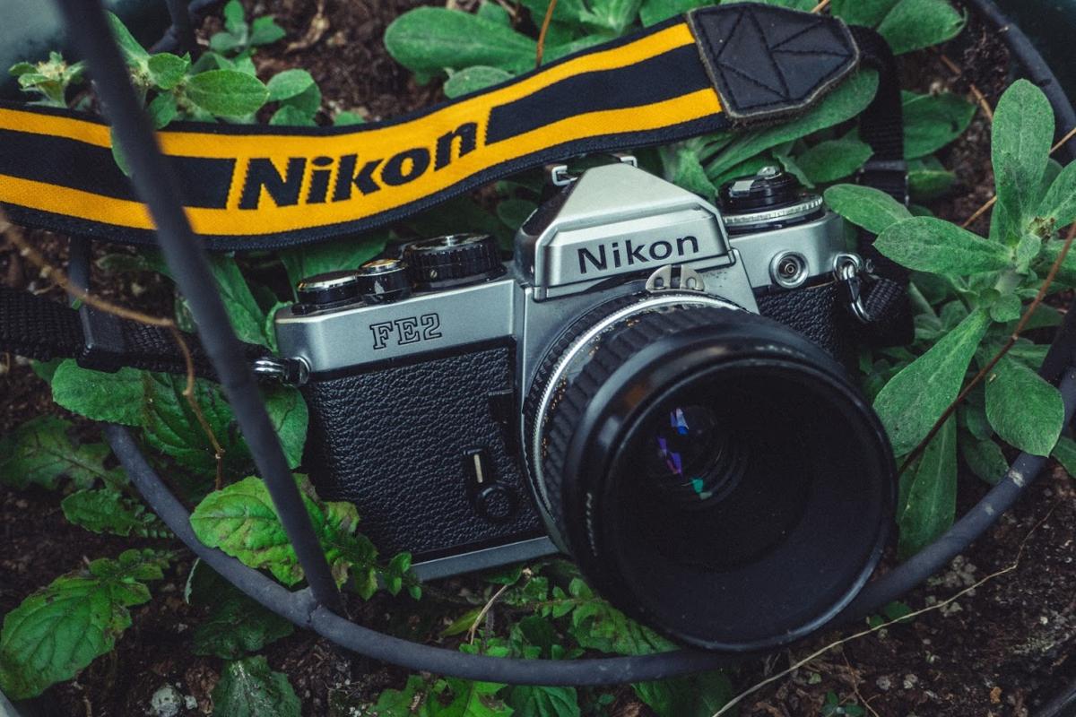 Nikon FE2 + Ai micro Nikkor 55mm F2.8