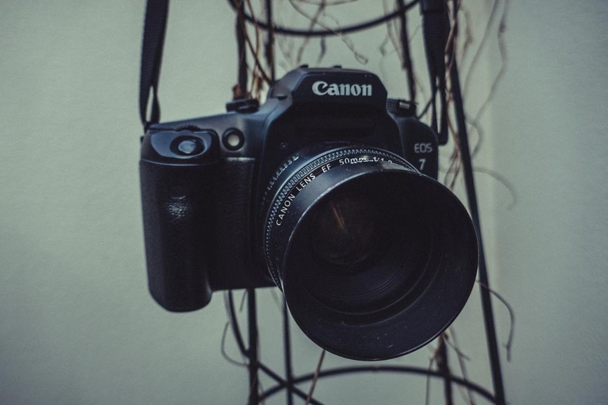 Canon EOS-7 + EF 50mm F1.8 II