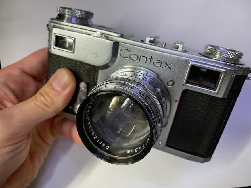 CONTAX II + Carl Zeiss Sonnar 50mm F1.5