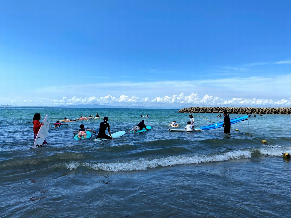 内海 サーフィンスクール