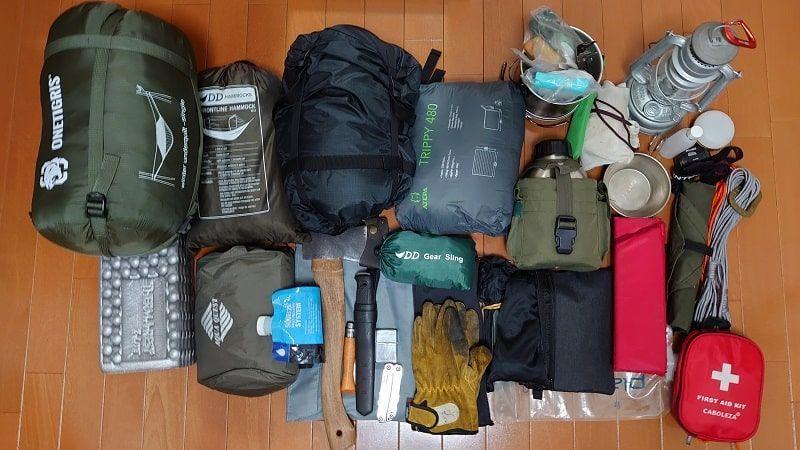 冬キャンプ装備