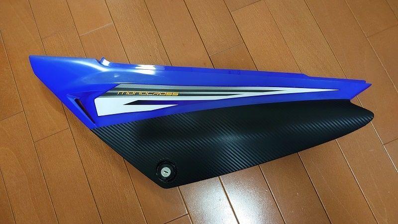 XTZ125 カーボンシート