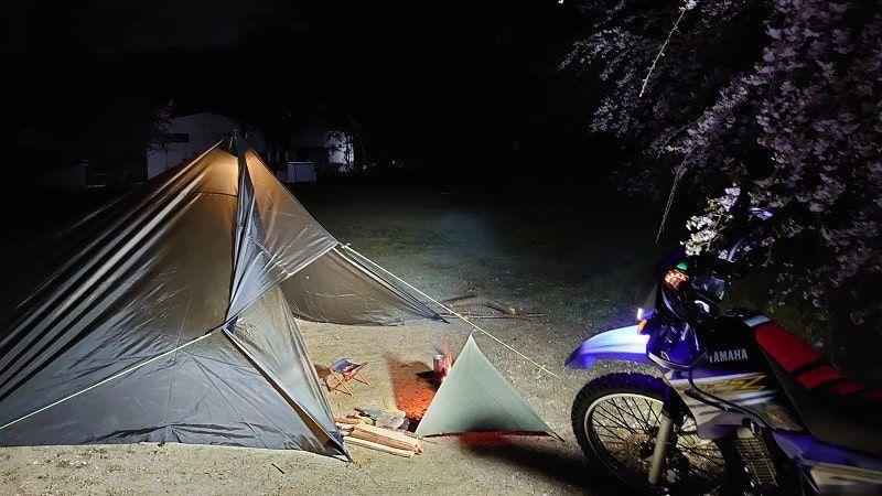 XTZ125 キャンプツーリング