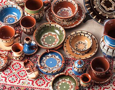 トロヤン陶器