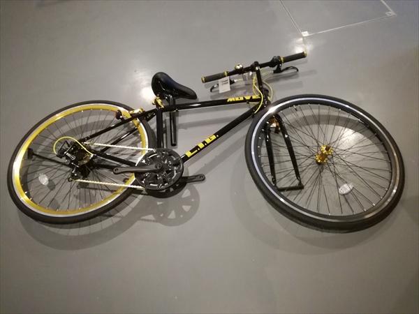 LIG(リグ) MOVE クロスバイク 700Cの各パーツ