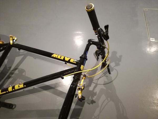 LIG(リグ) MOVE クロスバイク 700Cのハンドルを固定する