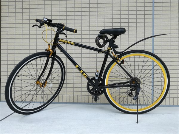 LIG(リグ) MOVE クロスバイク 700Cの付属品取付