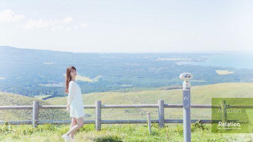 ダウンロード!PCデスクトップ用壁紙(人物、女性、地方故郷秋田の景色風景、素人モデル