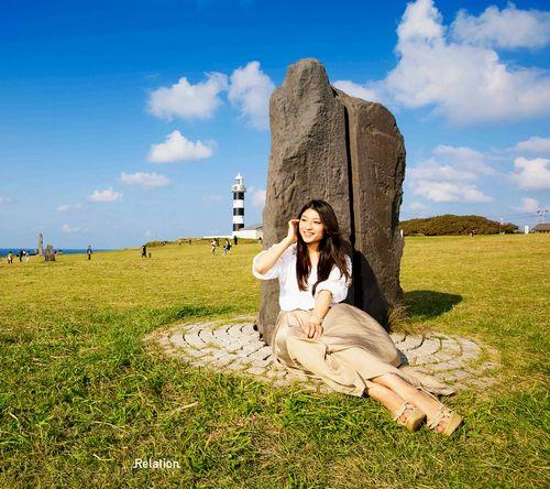 ダウンロードPCデスクトップ用壁紙人物女性地方故郷秋田の景色風景素人モデル