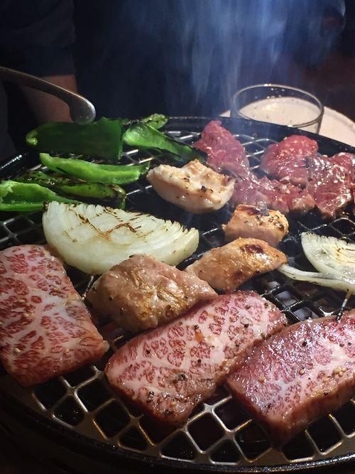 札幌市中央区すすきの駅近く焼き肉食べ放題和牛焼肉二代目ばんばん感想口コミ評判