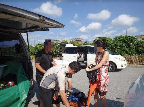夫婦初心者で沖縄那覇市離島無人島ダイビング体験観光ついでに貸切で楽しめる