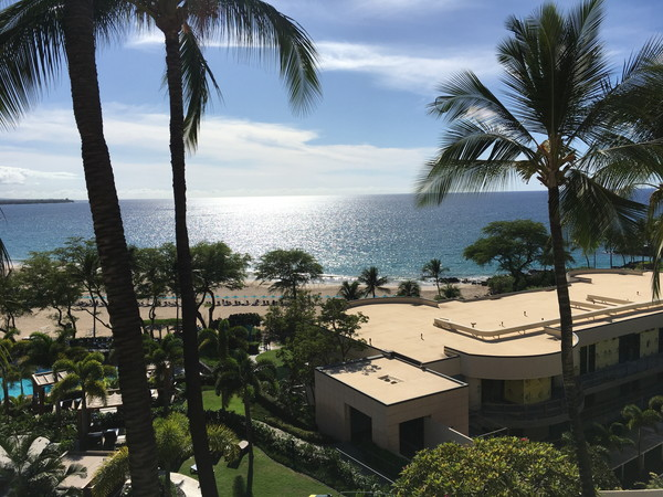 ホテルから見る海が最高