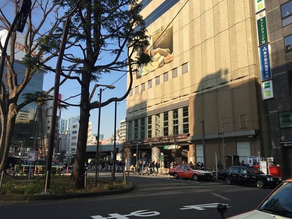 新宿うな鐵 (うなてつ)恵比寿店へは恵比寿駅西口から