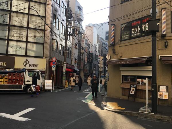 新宿うな鐵 (うなてつ)恵比寿店へのアクセス
