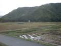大糸線車窓、木崎湖