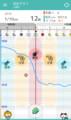 【頭痛ーる】 気圧予報グラフ