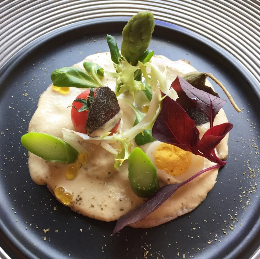 椿山荘イル・テアトロ、コースの前菜