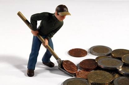 給料振り分け作業