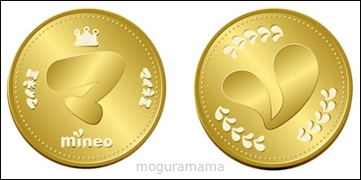 mineo王国コイン