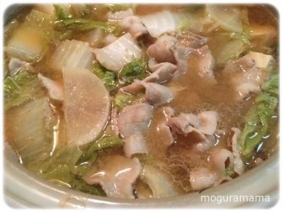 にんにく味噌鍋